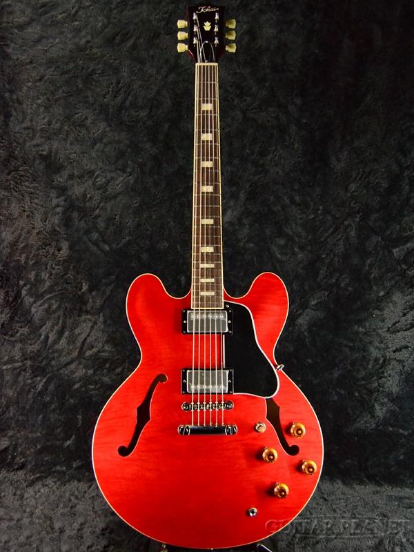 Tokai ES178 SR 新品 シースルーレッド[東海楽器,トーカイ][Cherry,Red,赤][エレキギター,Electric Guitar][セミアコ][ES-335タイプ][ES-178]