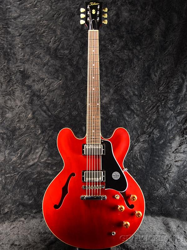 【弊店オーダーモデル】Tokai ES-GP/DOT C/SR #910 新品[トーカイ,東海][国産][セミアコ][Red,レッド,赤][Electric Guitar,エレキギター]