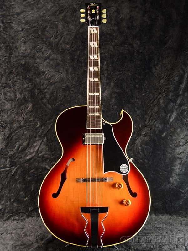 【弊店オーダーモデル】Tokai FA-GP C/SB Whiskey Sunburst #176622 新品[トーカイ,東海][国産][サンバースト][ES-175][フルアコ,セミアコ][Electric Guitar,エレキギター]