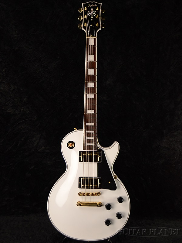 Tokai LC137S SW 新品[トーカイ,東海楽器][国産][Les Paul,LP,レスポールタイプ][White,ホワイト,白][Electric Guitar,エレキギター][LC-137S]