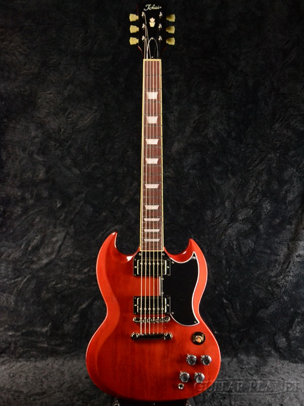 【カタログ外カラー】Tokai SG124 FCH 新品 フェイデッドチェリー[トーカイ,東海][国産][Cherry,Red,レッド,赤][Electric Guitar,エレキギター][SG-124]