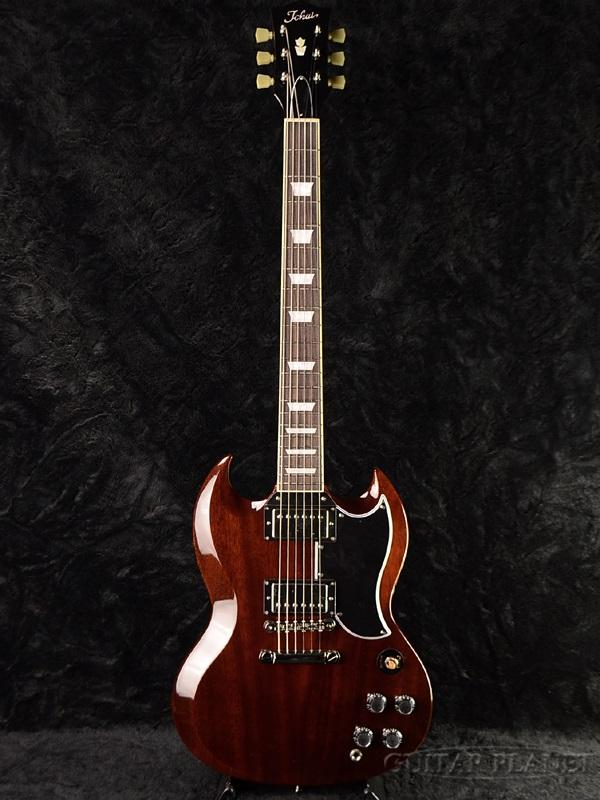 Tokai SG124 WN 新品 ウォルナット[トーカイ,東海][国産][Walnut,ブラウン,茶][Electric Guitar,エレキギター][SG-124]