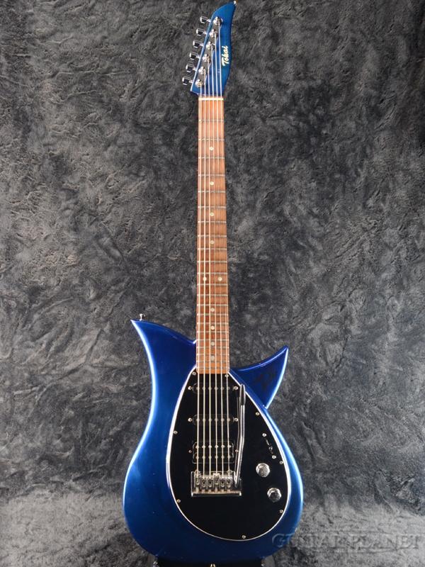 【8月限定大特価!!】【中古】Tokai TALBO -Metallic Blue- 1996年頃製[トーカイ,東海楽器][国産][タルボ][メタリックブルー,青][エレキギター,Electric Guitar]【used_エレキギター】