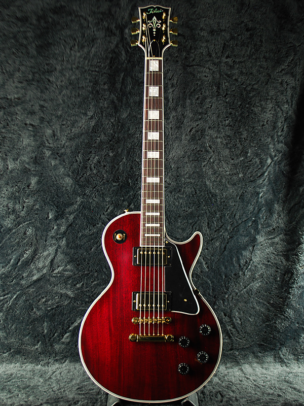 Tokai LC136 WR 新品 ワインレッド[トーカイ,東海楽器][国産][Custom,カスタム][Les Paul,LP,レスポールタイプ][Wine Red,赤][Electric Guitar,エレキギター][LC-132][動画]