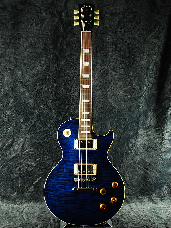 Tokai LS135Q IB 新品 インディゴブルー[トーカイ,東海楽器][国産][Les Paul,レスポールタイプ][Indigo Blue,青][Electric Guitar,エレキギター]