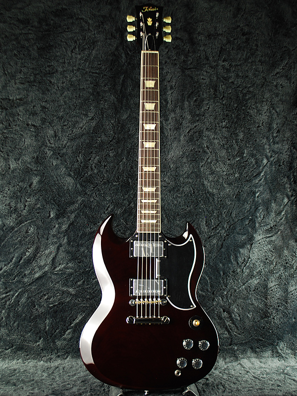 Tokai SG210 WN 新品 ウォルナット[トーカイ,東海][国産][Walnut][Brown,ブラウン,茶色][Electric Guitar,エレキギター][SG-210]