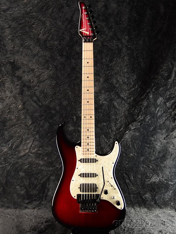TOM ANDERSON Classic -Transparent Red to Black Burst- 新品[トムアンダーソン][ドロップトップ][クラシック][レッド,ブラック,バースト,赤,黒,木目][stratocaster,ストラトキャスタータイプ][Electric Guitar,エレキギター]