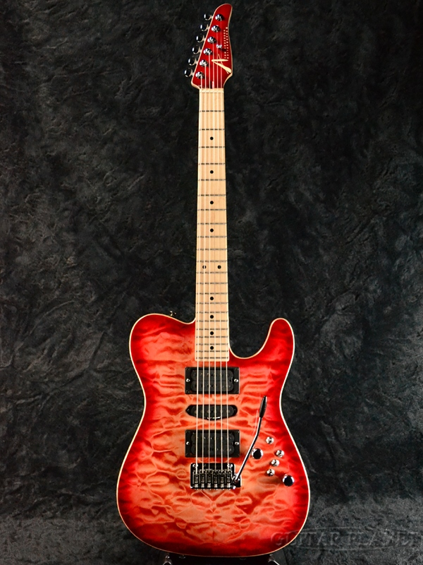 TOM ANDERSON Top T -Natural Red Burst with Binding- 新品[トムアンダーソン][ナチュラルレッドバースト,赤][Telecaster,TL,テレキャスタータイプ][Electric Guitar,エレキギター]