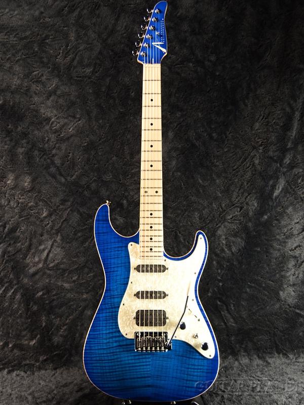 【当店カスタムオーダー品】TOM ANDERSON Drop Top Classic -Transparent Blue Burst- 新品[トムアンダーソン][ドロップトップ][クラシック][ブルーバースト,青][Stratocaster,ストラトキャスタータイプ][Electric Guitar,エレキギター]