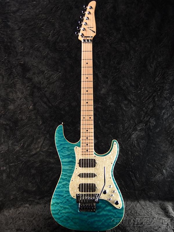 【当店カスタムオーダー品】TOM ANDERSON Drop Top Classic -Bora Bora Blue with Binding- 新品[トムアンダーソン][ドロップトップ][クラシック][ボラボラブルー,青][Stratocaster,ストラトキャスタータイプ][Electric Guitar,エレキギター]
