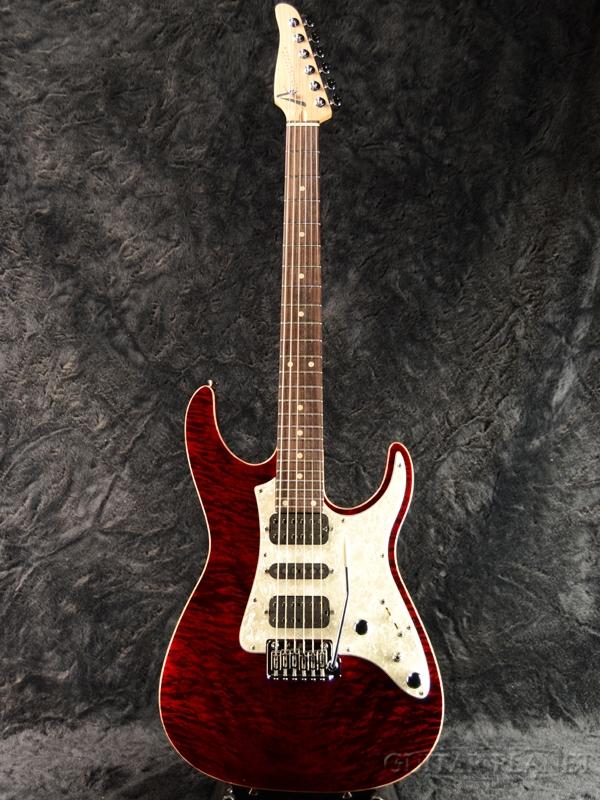 【当店カスタムオーダー品】Tom Anderson Guardian Angel -Cajun Red- 新品[トムアンダーソン][エンジェル][ガーディアン][レッド,シースルー,木目,赤][stratocaster,ストラトキャスタータイプ][Electric Guitar,エレキギター]