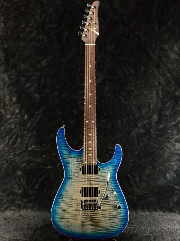 【ローズウッドネック】TOM ANDERSON Angel -Natural Black to Blue Burst- 新品[トムアンダーソン][エンジェル][ブルー,青][Stratocaster,ストラトキャスター][Electric Guitar,エレキギター]