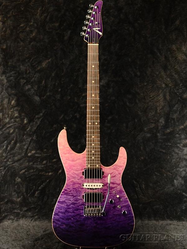 TOM ANDERSON Angel -Royal Purple Wipeout- 《新品アウトレット》[トムアンダーソン][エンジェル][パープル,紫][Stratocaster,ストラトキャスタータイプ][Electric Guitar,エレキギター]