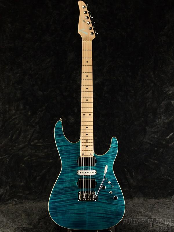 【当店カスタムオーダー品】TOM ANDERSON Angel -Sheer Deep Bora Bora Blue- 新品[トムアンダーソン][エンジェル][シアーデープ、ボラボラブルー,青][Stratocaster,ストラトキャスター][Electric Guitar,エレキギター]