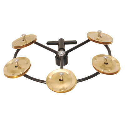 guitar planet tycoon hi hat tambourine tbhht b brand new brass tycoon hi hat tambourine. Black Bedroom Furniture Sets. Home Design Ideas