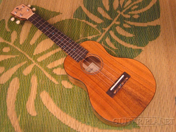 FGN Acoustic FUS-TC 新品 [富士弦,フジゲン][国産][Hawaiian Koa,ハワイアンコア][Concert Ukulele,コンサートウクレレ]