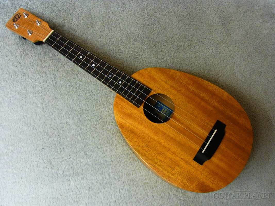 "Cali Ukes Mahogany Pineapple Model (16""short scale Tenor) 新品 テナーウクレレ[マホガニー][パイナップル][Tenor Ukulele]"