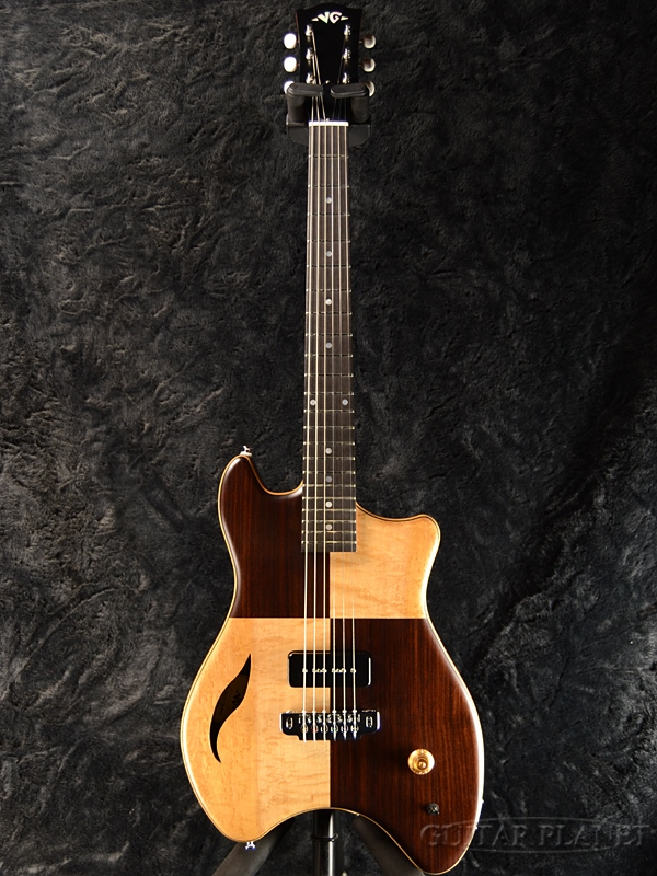 【サウンドメッセin大阪2018出展モデル】VG VG-TB LTD Checkerd Natural / Stain 新品[国産/日本製][ナチュラル][チェッカード][Electric Guitar,エレキギター]