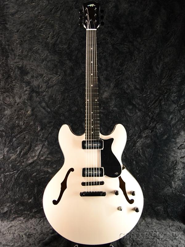 VG VG-SH-90 White 新品[国産/日本製][SH90][ホワイト,白][セミアコ][ES-335タイプ][Electric Guitar,エレキギター]