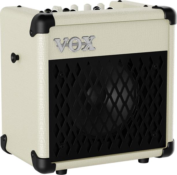【5W】VOX MINI5 Rhythm リズム機能搭載 新品 アイボリー[ヴォックス][Ivory,白][ギターアンプ/コンボ,Guitar Combo Amplifier]