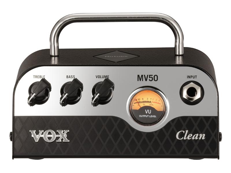 VOX MV50 Clean 新品 Nutube搭載ヘッドアンプ [ヴォックス,ボックス][ニューチューブ][クリーン][Guitar Amplifier Head,ギターアンプヘッド][MV50]