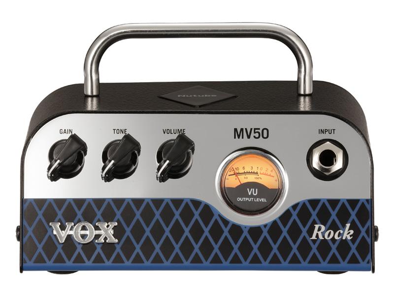 VOX MV50 Rock 新品 Nutube搭載ヘッドアンプ [ヴォックス,ボックス][ニューチューブ][ロック][Guitar Amplifier Head,ギターアンプヘッド][MV50][動画]
