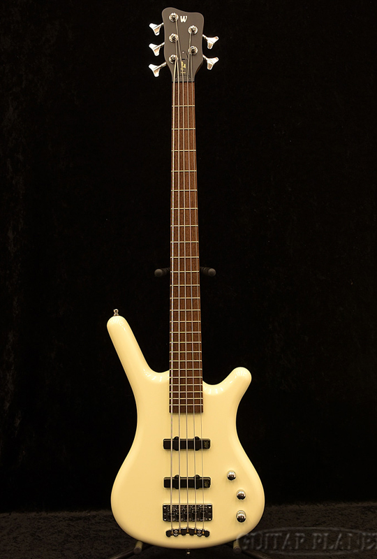 Warwick Germany Pro Series Corvette Ash 5-Solid Creme White High Polish- 新品[ワーウィック][コルベット][ホワイト,白][アッシュ][5strings,5弦][Electric Bass,エレキベース]