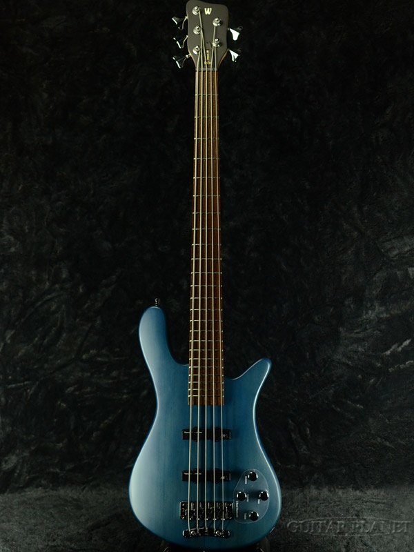 Warwick RockBass Streamer LX 5 -Ocean Blue- 新品[ワーウィック][ストリーマー][ブルー,青][5弦][ベース]