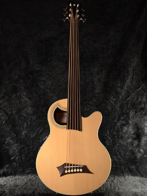 Brand New Warwick Rock Bass Alien Deluxe 6st Fretless 6 String And Performance Natural Aliendillacs Acoustic