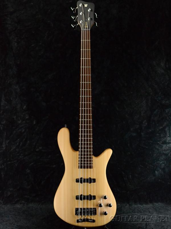 Warwick Rock Bass Streamer LX 5st -Natural- 新品 ナチュラル[ワーウィック][ロックベース][ストリーマー][5弦,5Strings][Electric Bass,エレキベース]