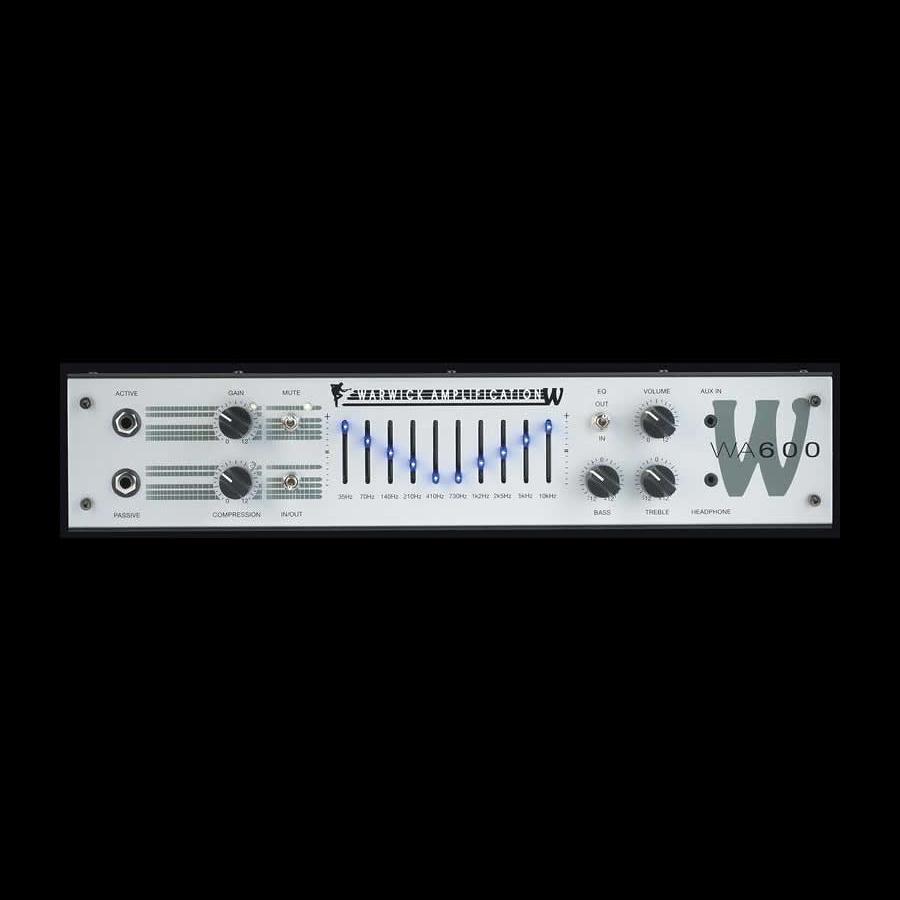 【600W】Warwick WA600 新品 ベースアンプヘッド [ワーウィック][600ワット][クラスA][Head,Bass Amplifiers][WA-600]