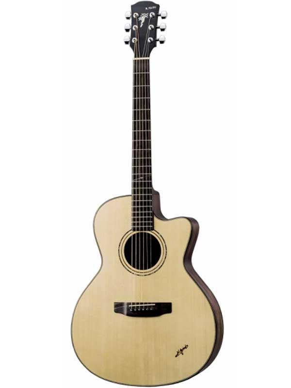 K.Yairi BM-65CE 新品[Kヤイリ][国産][Natural,ナチュラル][Electric Acoustic Guitar,Folk Guitar,エレクトリックアコースティックギター,エレアコ,フォークギター]