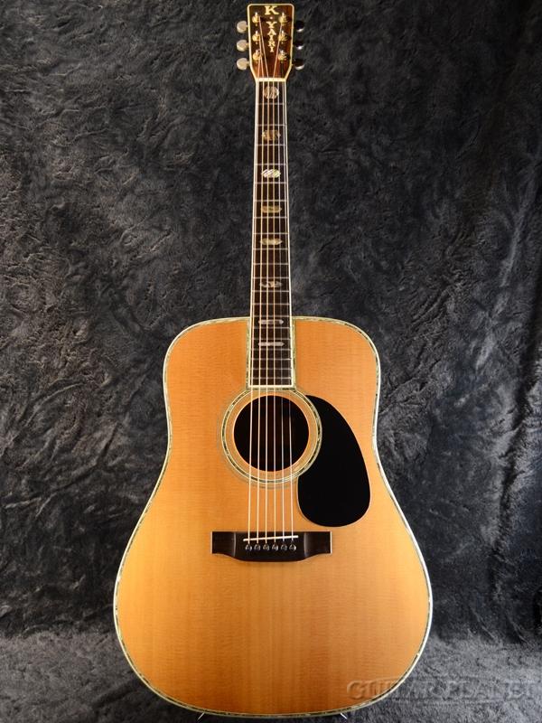 【中古】K.Yairi DY-45 ~Japan Vintage~ 1978年製【最高級エゾ松×最高級ハカランダ】[ヤイリ][国産][Natural,ナチュラル][Acoustic Guitar,アコギ,アコースティックギター,Folk Guitar,フォークギター]【used_アコースティックギター】