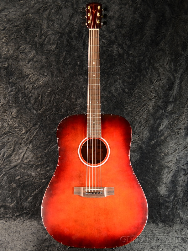 K.Yairi YW-CTM #1406 新品[Kヤイリ][国産][Sunburst,サンバースト][Acoustic Guitar,アコースティックギター,Folk Guitar,フォークギター]