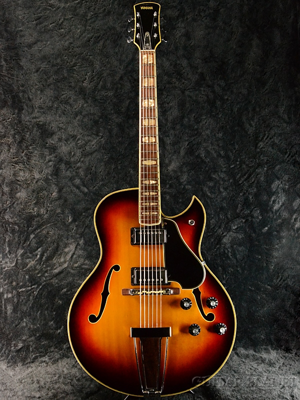 【6月限定大特価!!】【中古】YAMAHA AE-11 Sunburst 1973年製[ヤマハ][スプルース][Sunburst,サンバースト,木目][Electric Guitar,エレキギター]