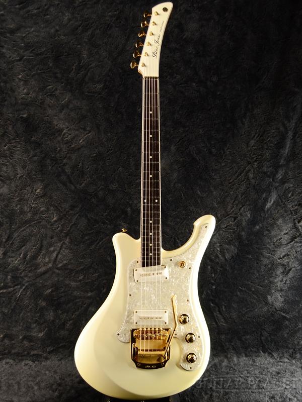 【中古】YAMAHA BJ-PRO Blue Jeans Professional -RWP (Royal White Pearl)- 2000年代製[ヤマハ][国産][ブルー・ジーンズ・プロフェッショナル][ロイヤルホワイトパール,白][Electric Guitar,エレキギター]【used_エレキギター】