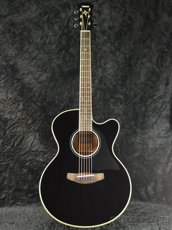guitar planet brand new yamaha cpx500iii bl yamaha black black electric acoustic guitar. Black Bedroom Furniture Sets. Home Design Ideas