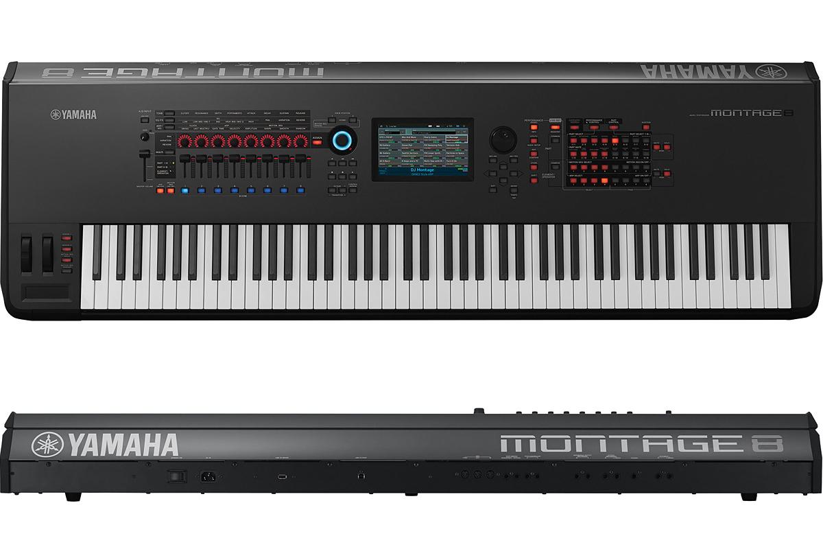 YAMAHA MONTAGE8 新品[ヤマハ][88鍵][モンタージュ][Synthesizer,シンセサイザー,Keyboard,キーボード]