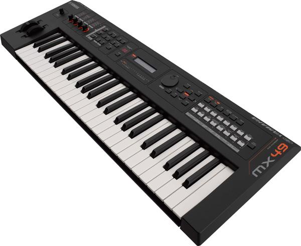 【専用ソフトケース付属】YAMAHA MX49 BK 新品 49鍵盤 シンセサイザー[ヤマハ][Black,ブラック,黒][Synthesizer][Keyboard,キーボード][MX-49]