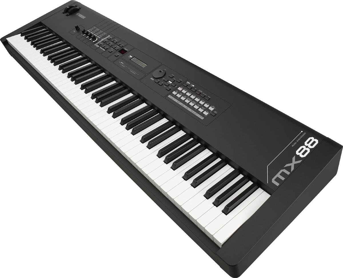 YAMAHA MX88 Black 新品 シンセサイザー[ヤマハ][88鍵盤][ブラック,黒][Synthesizer,Keyboard,キーボード][MX-88][動画]