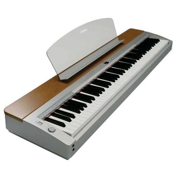 【スタンド別】YAMAHA P-155 新品 シルバー/チェリー 88鍵盤 電子ピアノ[ヤマハ][P155][Silver,Cherry,銀][88Key][デジタルピアノ,Piano]