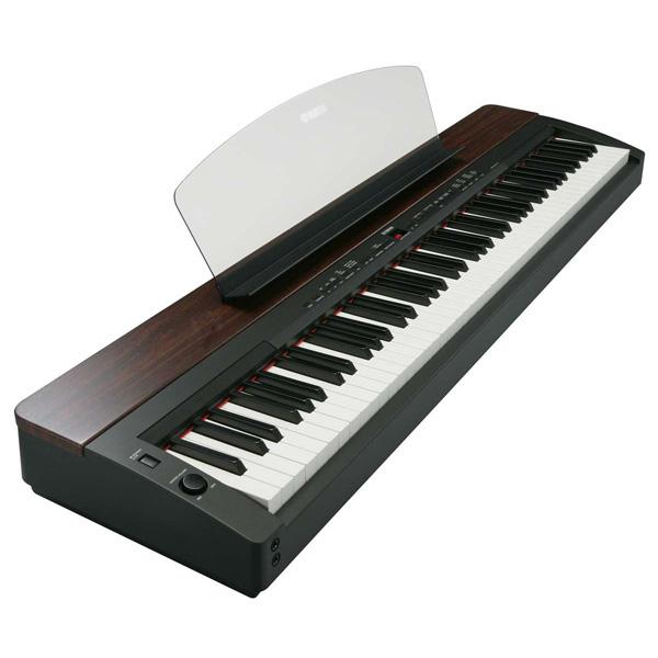 【スタンド別】YAMAHA P-155 新品 ブラック/マホガニー 88鍵盤 電子ピアノ[ヤマハ][P155][Black,Mahogany,黒,茶][88Key][デジタルピアノ,Piano]