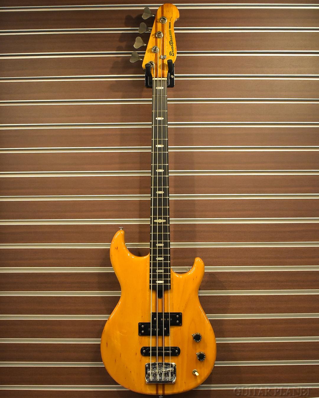 【御委託中古品】YAMAHA BB2000 -Yellow Natural- 1978年製【4.62kg】[ヤマハ][国産][イエローナチュラル,黄色][Electric Bass,エレキベース]【used_ベース】