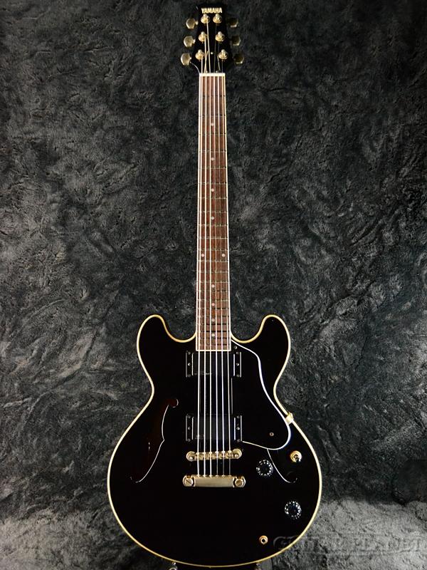 【中古】YAMAHA SAS-II-Black- 1990年代製[ヤマハ][国産][ブラック,黒][セミアコ][Electric Guitar,エレキギター]【used_エレキギター】