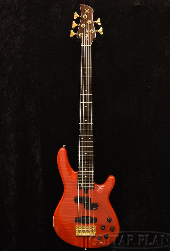 【中古】YAMAHA TRB 5P -TRS-[ヤマハ][Red,レッド,赤][5strings,5弦][Electric Bass,エレキベース]【used_ベース】