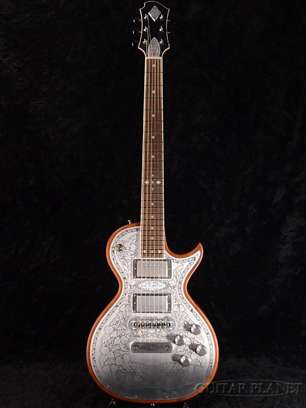 Zemaitis A24MF Natural 新品[ゼマティス][メタルフロント][ナチュラル][Les Paul,レスポールタイプ][Electric Guitar,エレキギター]