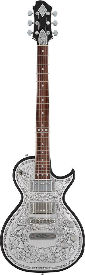 Zemaitis A24MF Black 新品[ゼマティス][メタルフロント][ブラック][Les Paul,レスポールタイプ][Electric Guitar,エレキギター]