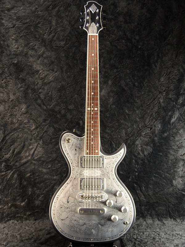 Zemaitis A24MF DC Black 新品[ゼマティス][国産][メタルフロント][ダブルカット][ブラック,黒][Les Paul,レスポールタイプ][Electric Guitar,エレキギター]