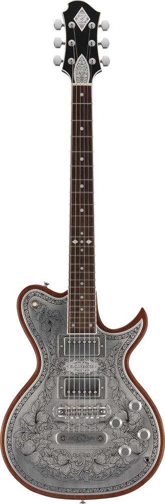 Zemaitis A24MF DC Natural 新品[ゼマティス][国産][メタルフロント][ダブルカット][ナチュラル][Les Paul,レスポールタイプ][Electric Guitar,エレキギター]