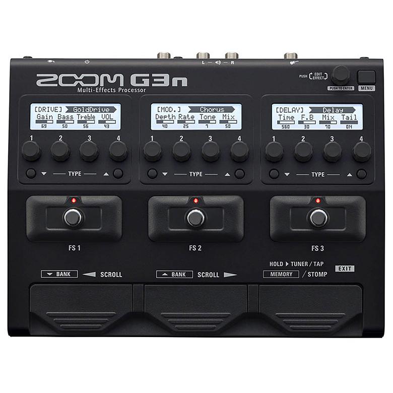 【純正アダプター付属】ZOOM G3n Multi-Effects Processor 新品[ズーム][Multi Effector,マルチフェクター][アンプシミュレーター][Effector,エフェクター]